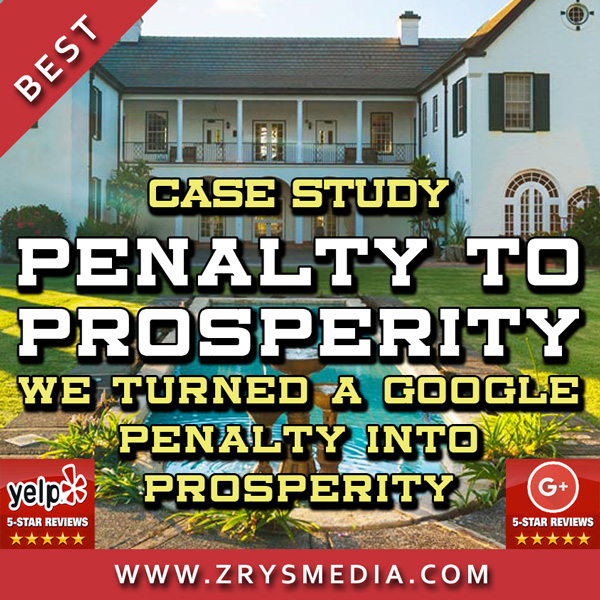 Real Estate SEO Case Study: From Penalty to Prosperity
