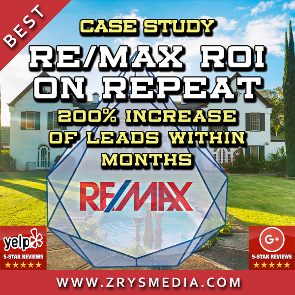 Real Estate SEO Case Study - RE/MAX ROI on Repeat