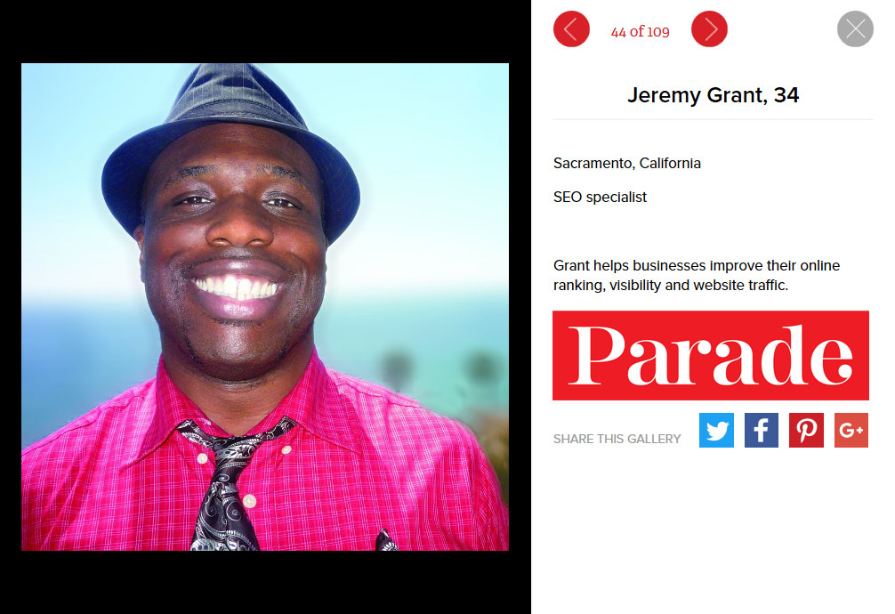 Featured in Parade Magazine is Senior SEO Expert and CEO of Sacramento SEO Company ZrysMedia, Jeremy