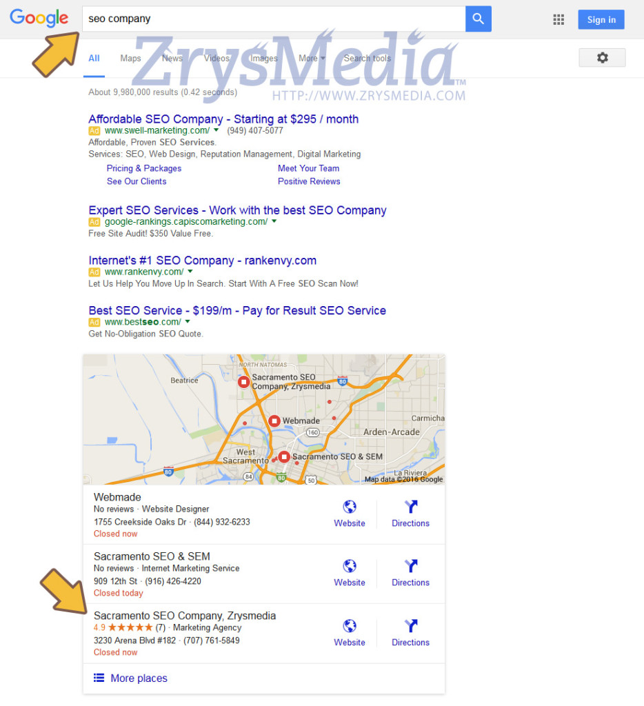 SEO Citations in Action